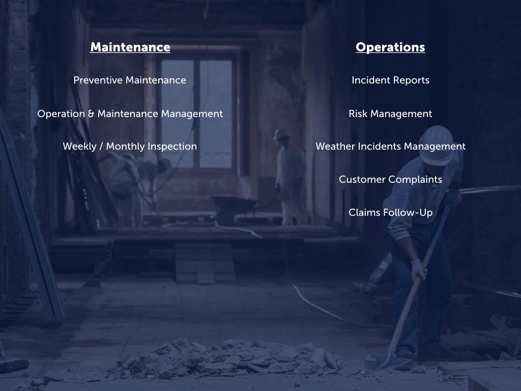 O&M - Business Processes