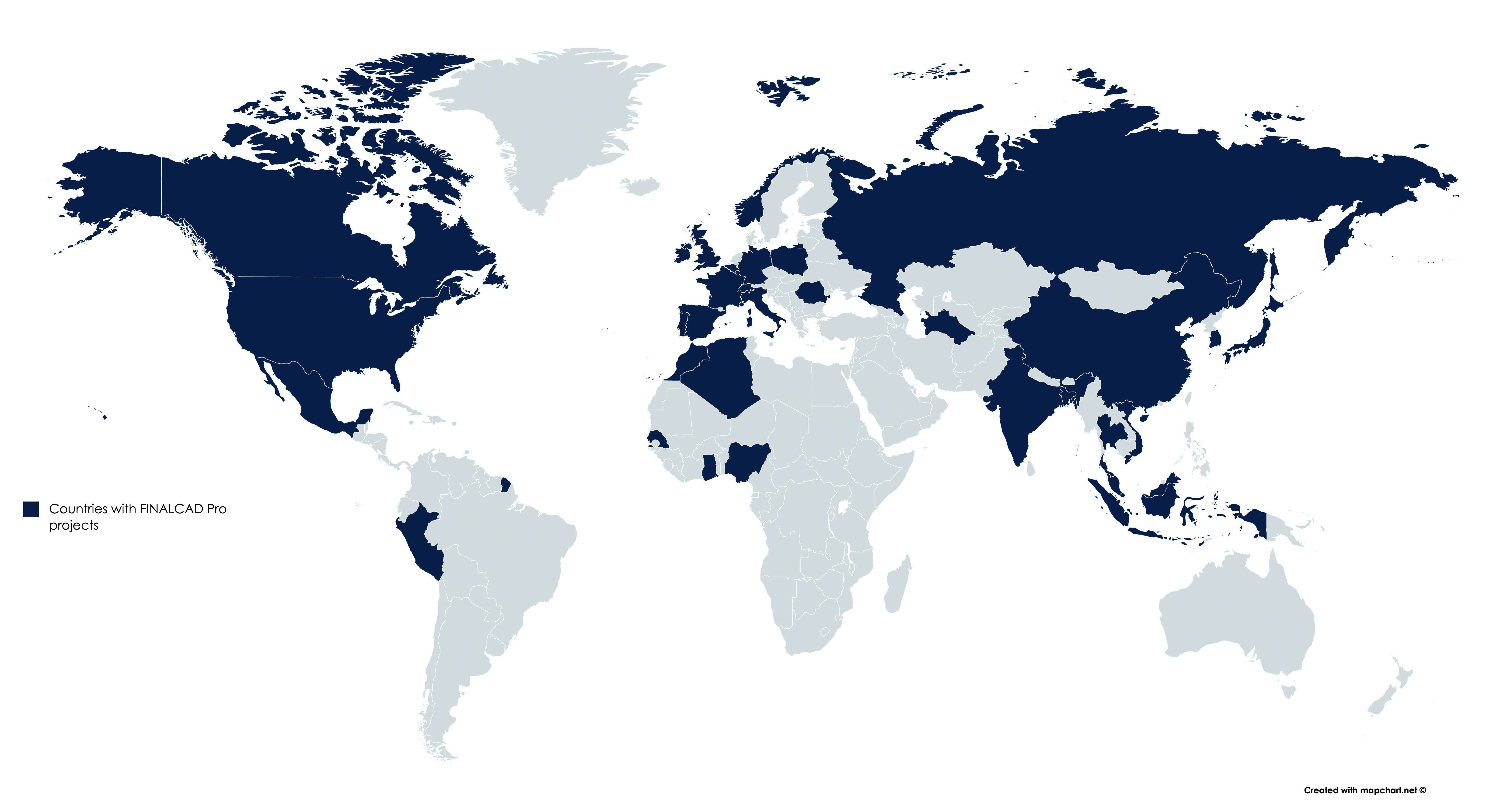 FINALCAD Projects Worldwide
