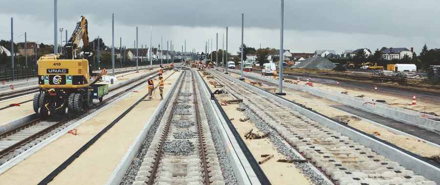 Renouvellement des voies SDMR Régio 2 avec les équipes d'ETF