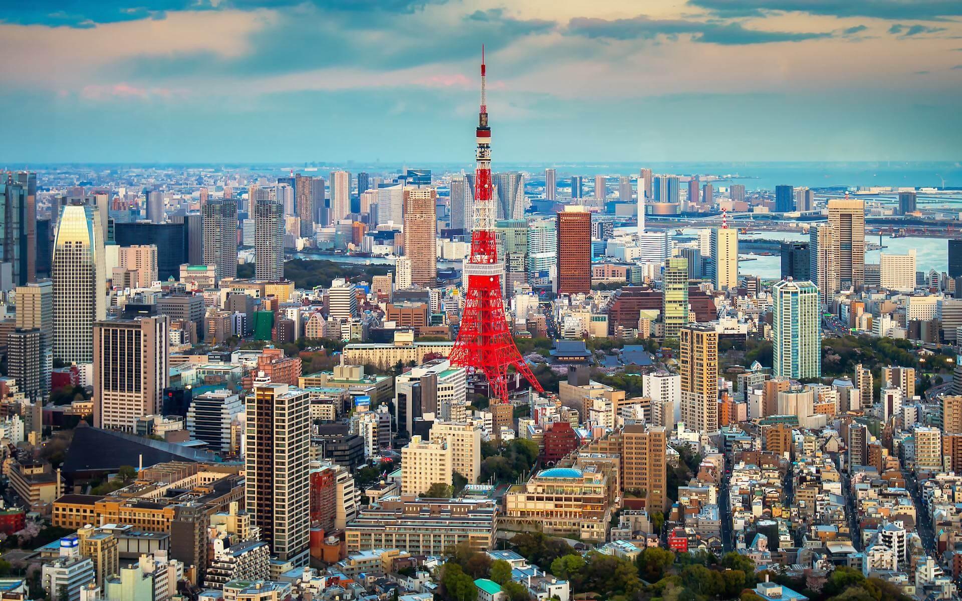 Tokyo-skyline