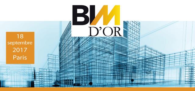 FINALCAD partenaire des BIM d'Or 2017